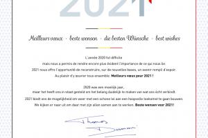Beste wensen voor 2021!
