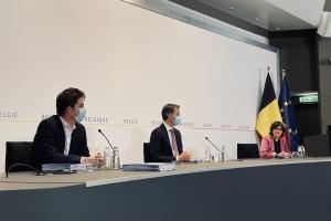 België maakt herstelplan over aan Europese Commissie